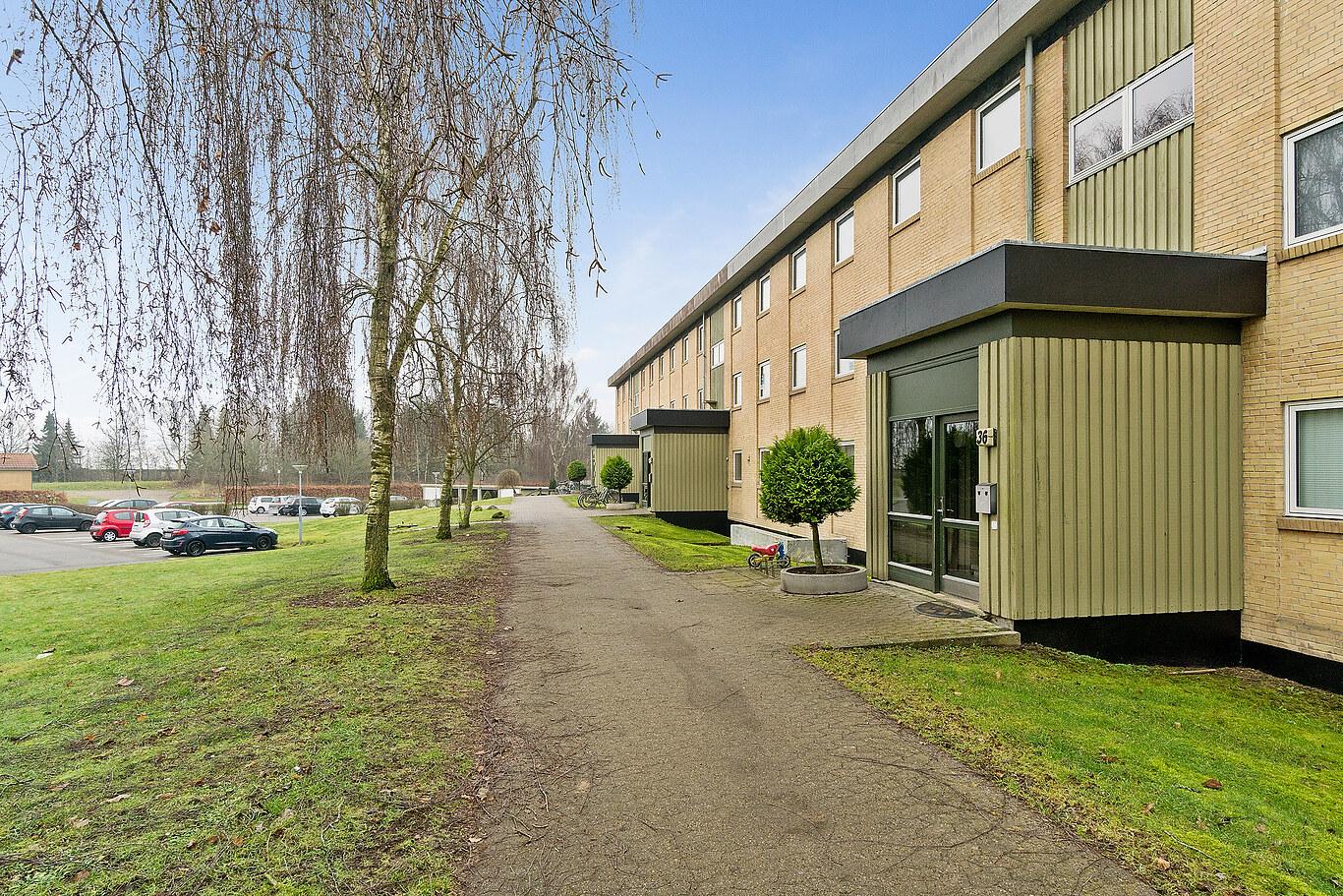 3 værelses lejlighed på 84 m²